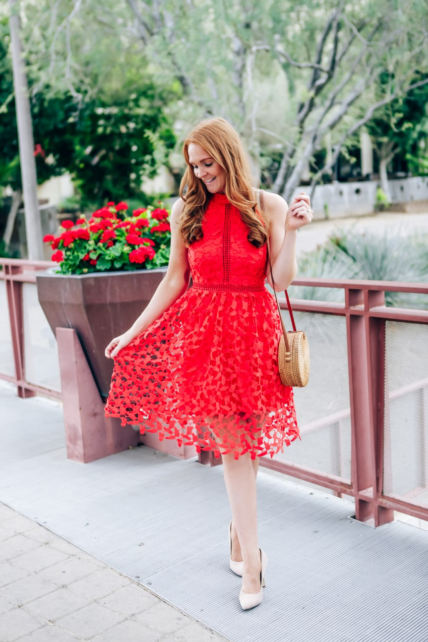 Fashion blogger shares Easter Outfit from Amazon