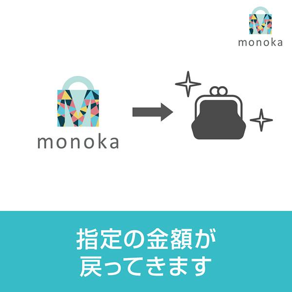 monoka(モノカ)ネットショッピングがポイントから現金へ!