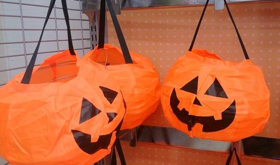 吊り下げかぼちゃ
