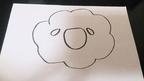 羊の簡単な書き方2