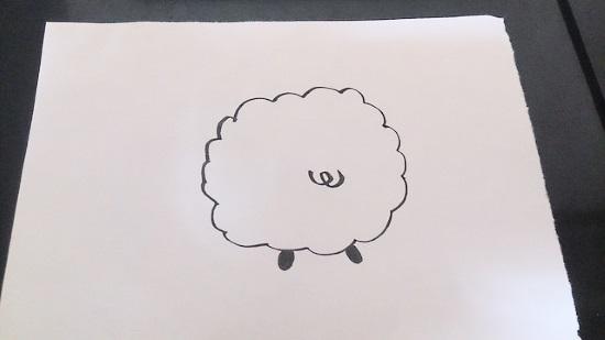 簡単な羊3