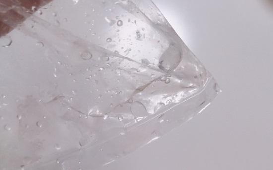 氷水解凍のドリップ