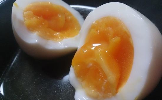 おでんの味付け半熟卵
