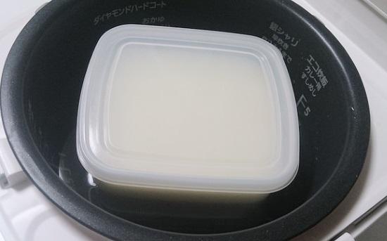 ヨーグルト炊飯器で発酵