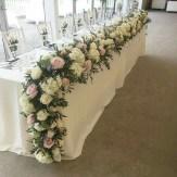 Hibiscus events decoration table dhonneur