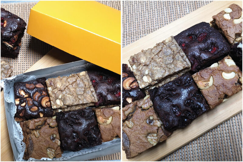 brownies and butterscotch bars