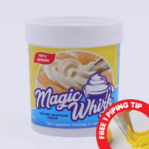 MAGIC WHIZK Instant Whipping Cream 1Kg w/ FREE Piping Tip