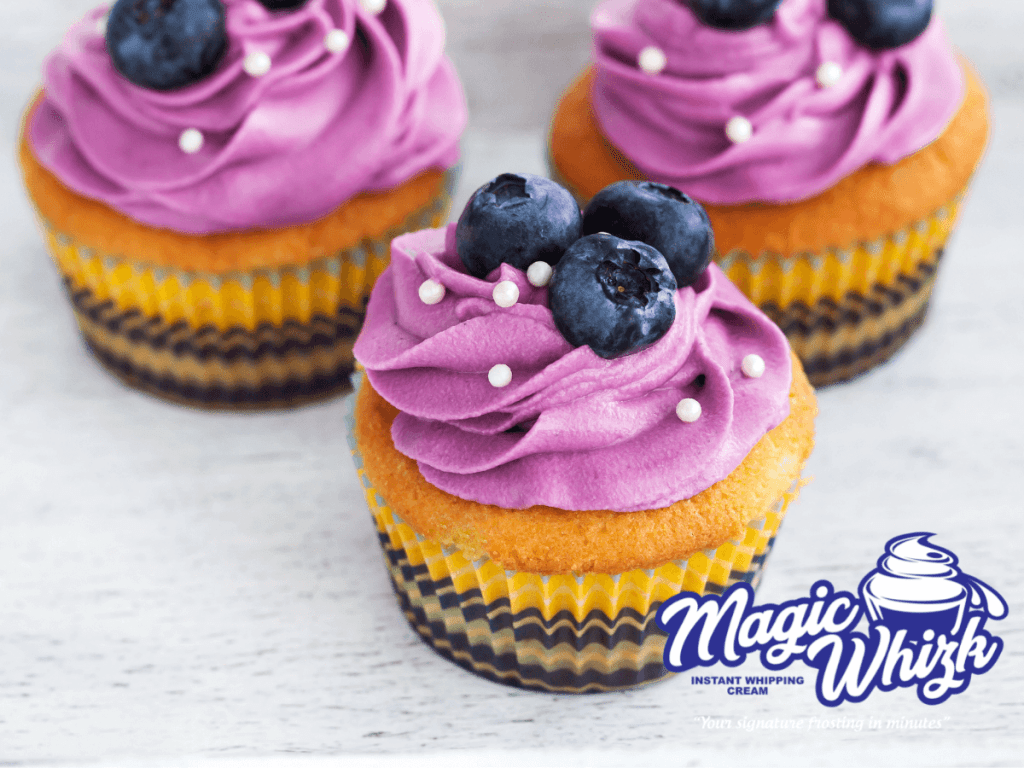 blueberry buttercream frosting icing