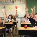 Special needs students in the classroom