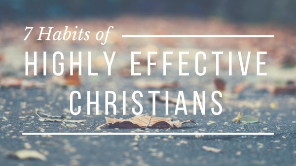 Seven Habits of Highly Effective Christians
