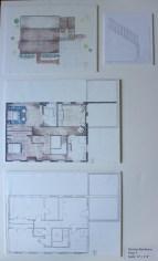 Site Plan + Floor Plan, 2nd Fl.