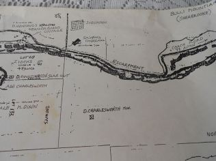 Bulli Mountain Map 2 - From Jones Family of Sherbrooke : Source Sandra Jones