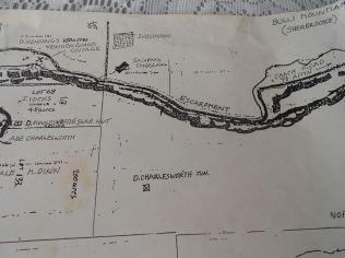 Bulli Mountain Map 2 - From Jones Family of Sherbrooke : Source Sandra Jones