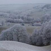 Snow on Hicks Farm