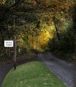 Hicks Farm Sign