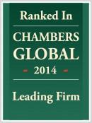 Chambers Global 2014 Leading Firm Image