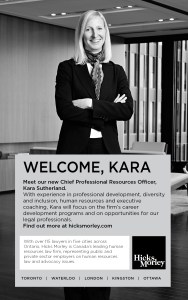 Kara Sutherland Welcome Ad