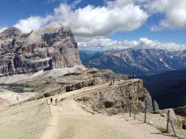 Views from high up the Dolomites