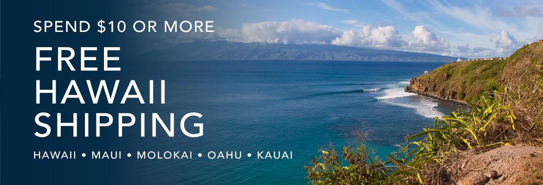 Hawaii Ships Free