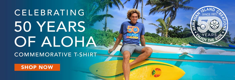 50 Years of Aloha Tee