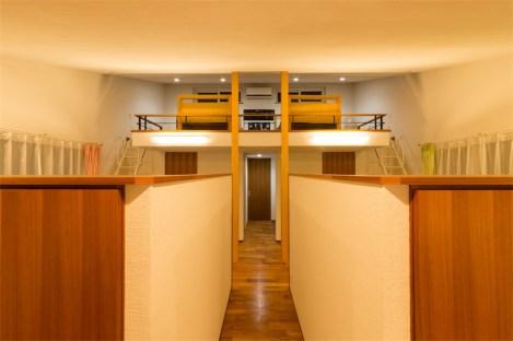 廿日市に建つ超高性能な暖かい注文住宅 子供部屋