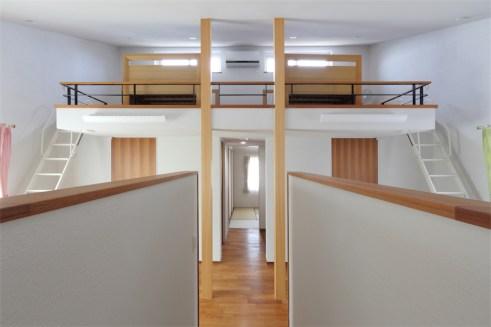 廿日市に建つ超高性能な暖かい注文住宅 ロフト