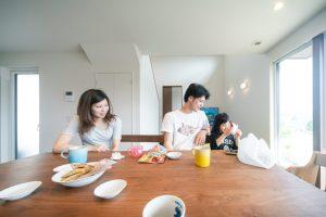 高気密高断熱の注文住宅 仲良し家族 注文住宅 高性能パッシブ設計