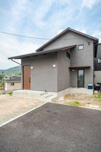 広島市安佐南区の家 外観 高性能パッシブ設計