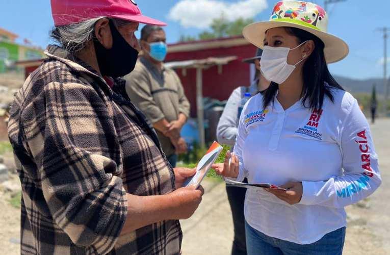 MIRIAM GARCÍA BUSCARÁ ABASTO DE MEDICAMENTOS Y REGRESO DE PROGRAMAS SOCIALES