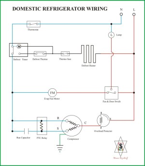 Wiring Diagram Kulkas Secara Umum | REFRIGERATION & AIR