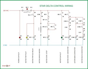 Star Delta Wiring Diagram | REFRIGERATION & AIR CONDITIONING
