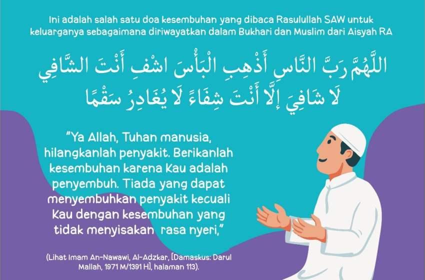Doa Memohon Kesembuhan
