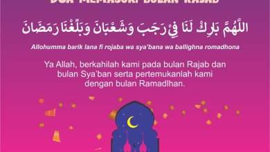 Photo of Doa Memasuki Bulan Rajab