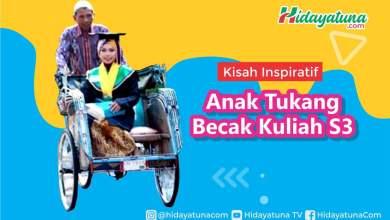 Photo of Kisah Inspiratif Anak Tukang Becak Kuliah S3