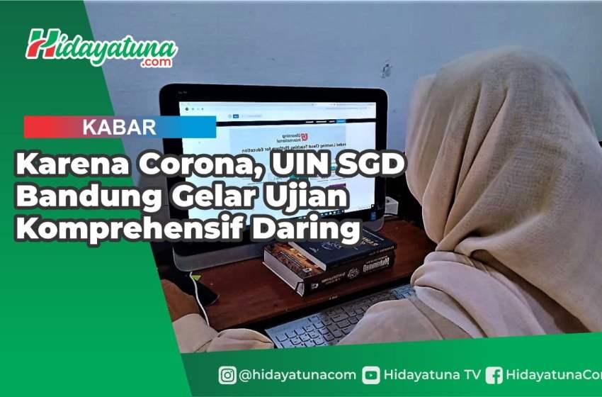Karena Corona, UIN SGD Bandung Gelar Ujian Komprehensif Daring