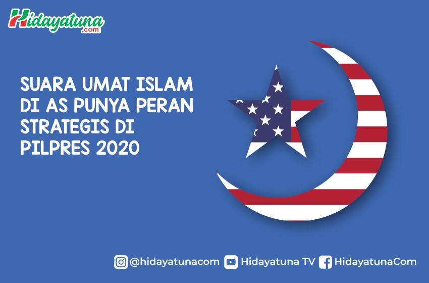 Pilpres 2020: Suara Umat Islam AS Punya Peran Strategis