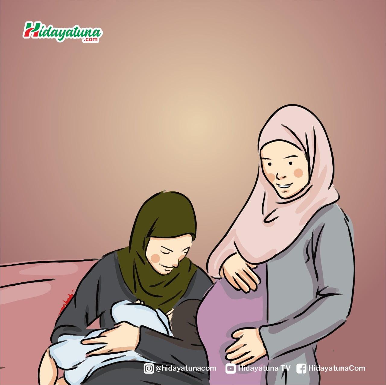 Perlakuan baik orangtua kepada anak (Ilustrasi/Hidayatuna)