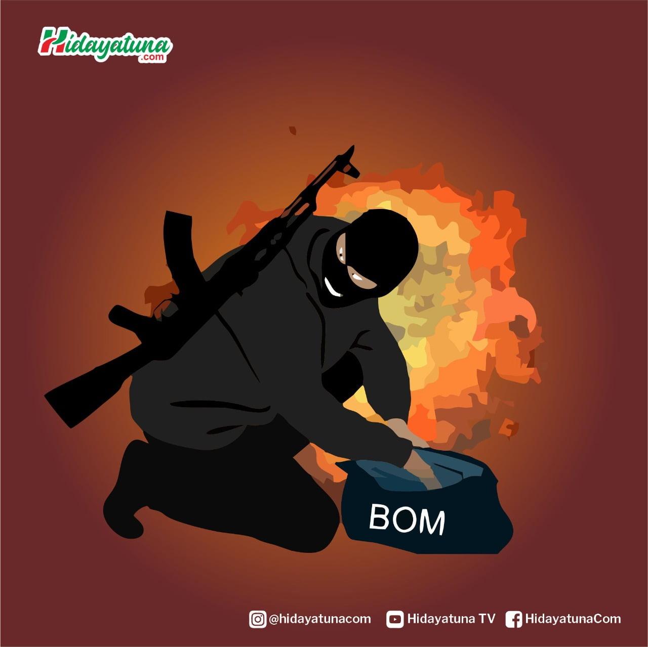 Terorisme (Ilustrasi/Hidayatuna)