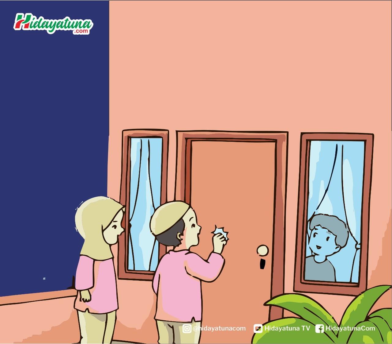 Etika menegur tetangga yang baik (Ilustrasi/Hidayatuna)