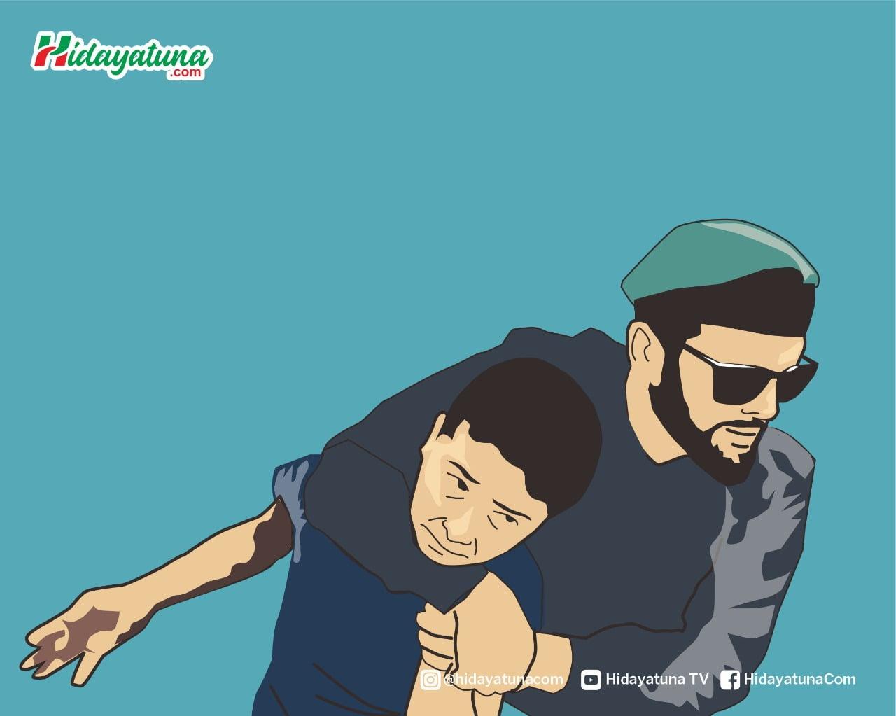 Anak Palestina Ditangkap Israel (Ilustrasi/Hidayatuna)