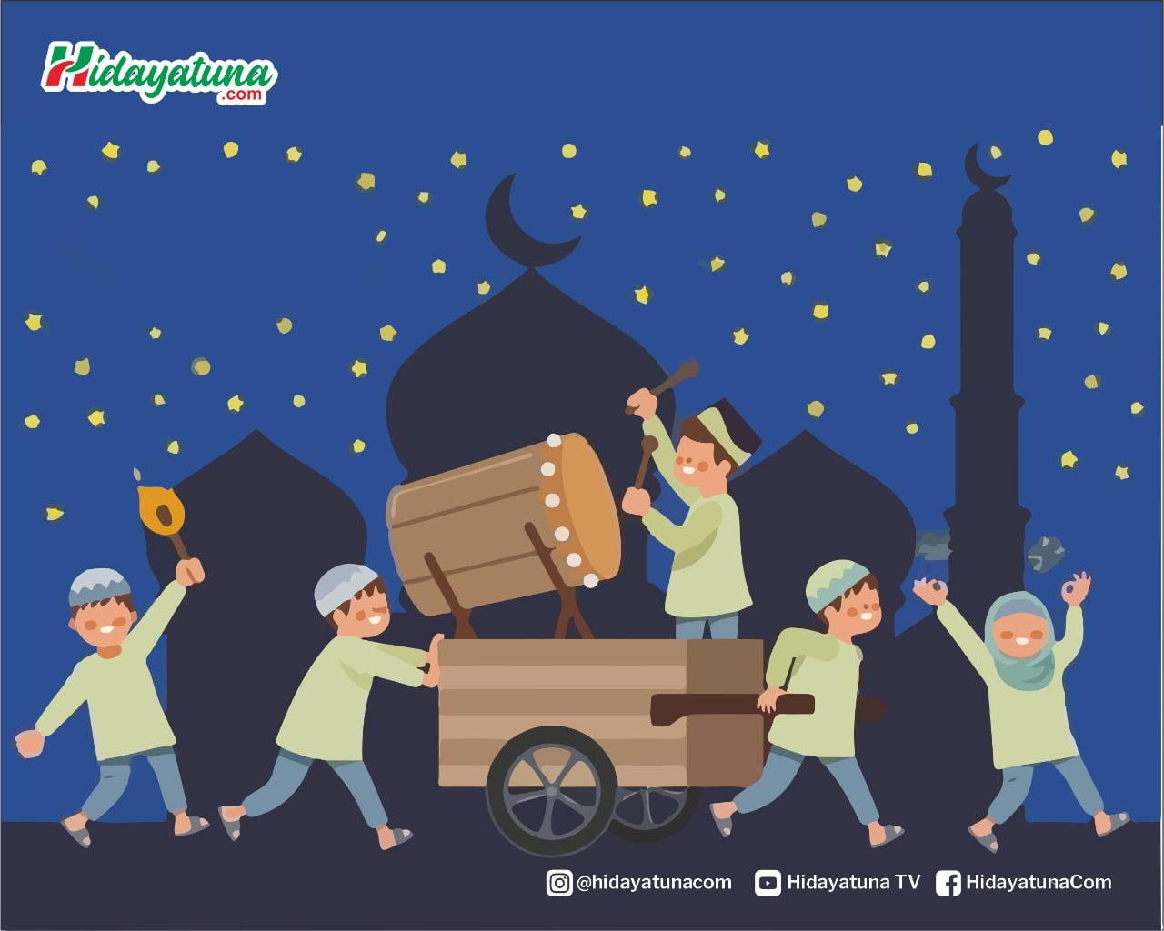 Takbiran di Hari Raya (Ilustrasi/Hidayatuna)