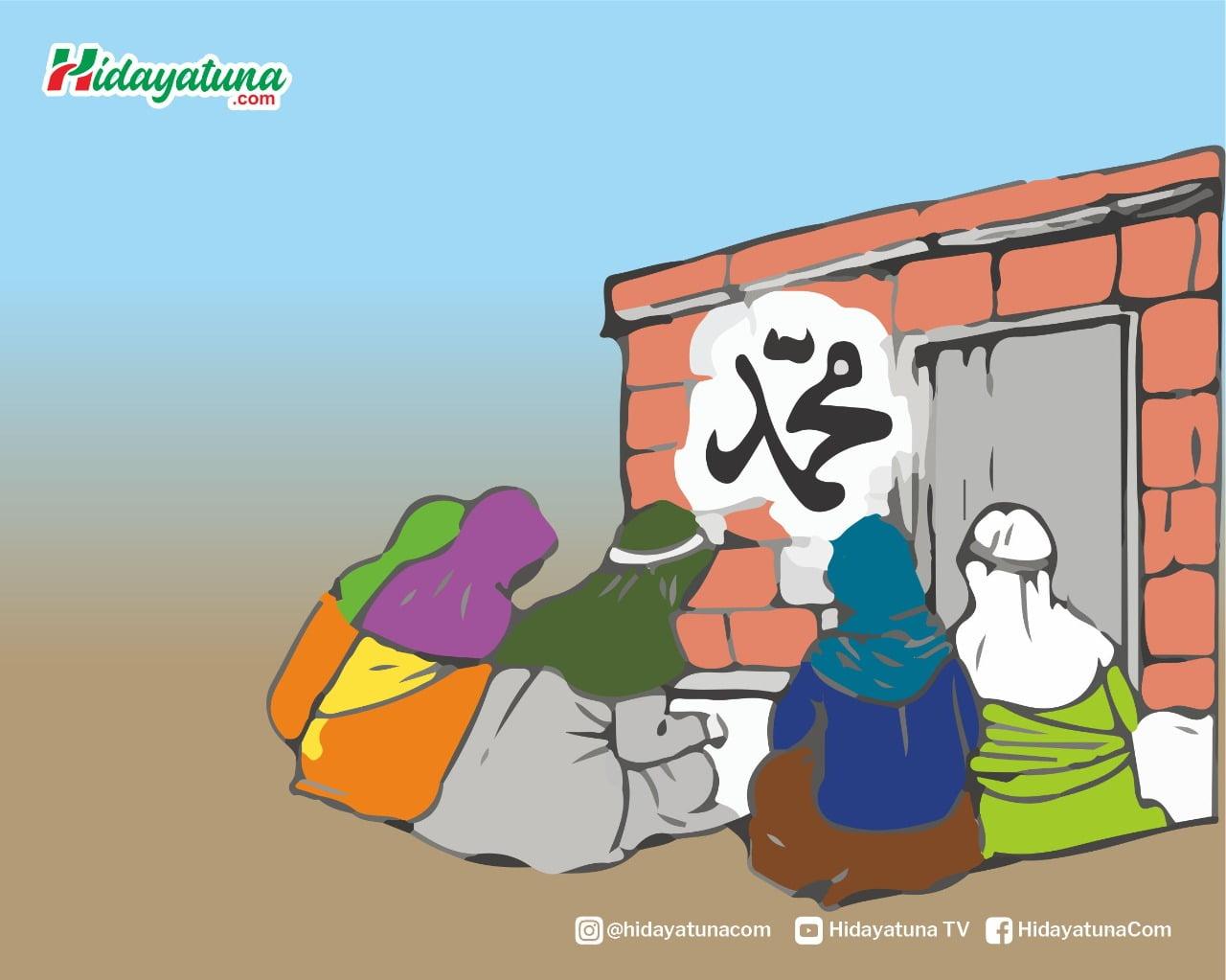 Dua Sayyid keturunan Rasulullah (Ilustrasi/Hidayatuna)
