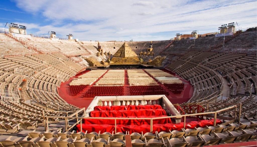 The Verona Arena, Verona