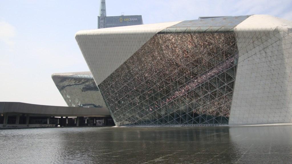 Guangzhou Opera House, Guangzhou (Cina)