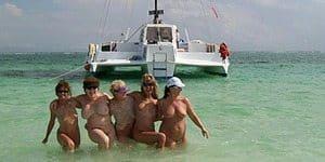 cancun beach spring break