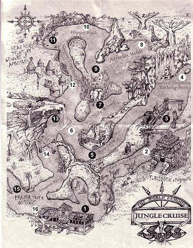 Secrets of Jungle Cruise Ride in Disneyland