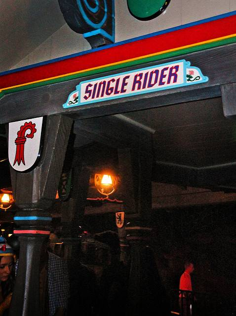 Single Rider at Disneyland Secrets