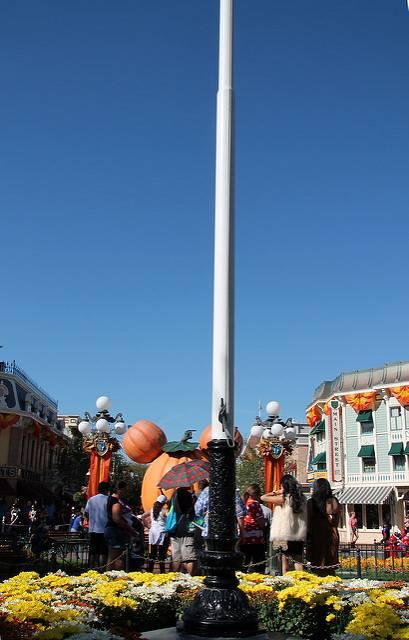 Flagpole at Disneyland