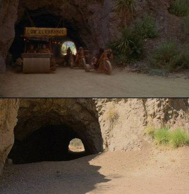 Located near Griffith Park is a famous cave used in many movies