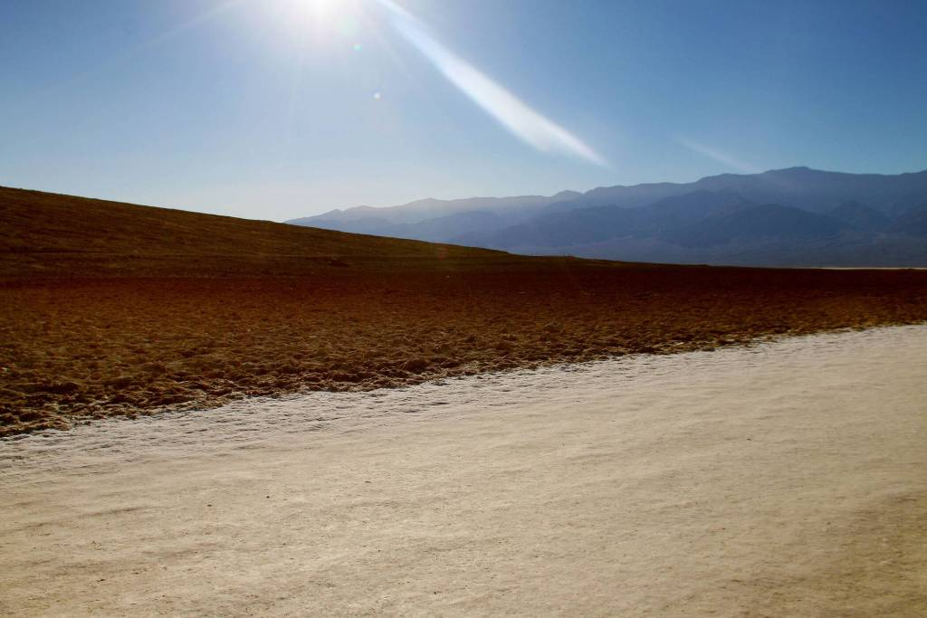 Badwater Salt Flats Basin